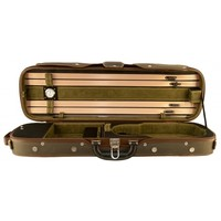 Violin case deluxe wood water resistant cover