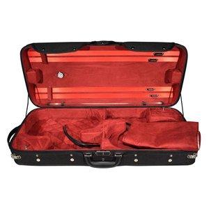 4strings Combi Étui bois pour 2 violons