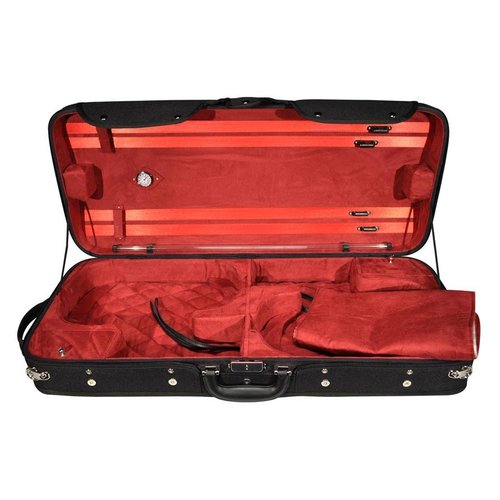 4strings Combi case wood for 2 violins