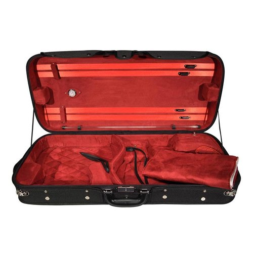 4strings Combi case wood for violin and viola