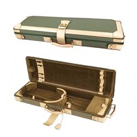 Violin case GL denim-leather green-beige