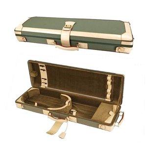 GL Cases Violin case GL denim-leather green-beige