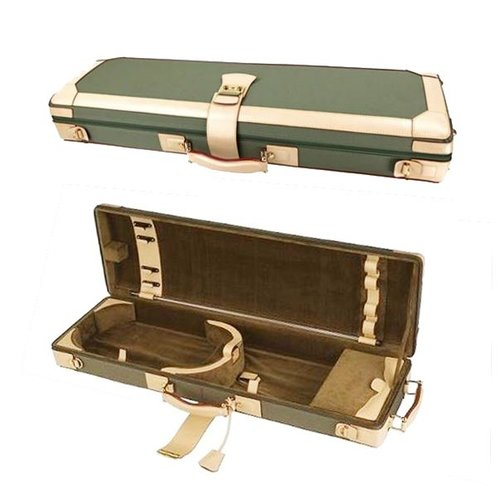 GL Cases Étui de violon GL denim-leather green-beige