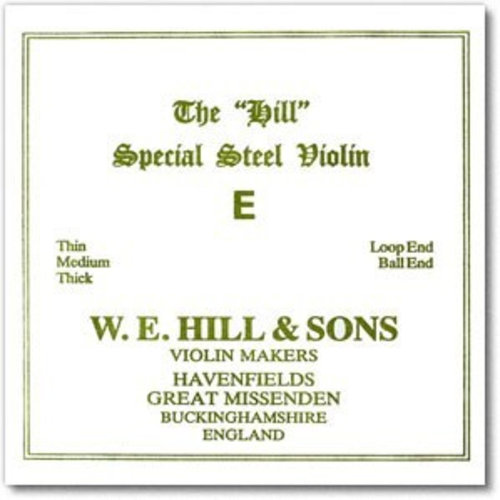 William E. Hill Violin strings William E. Hill