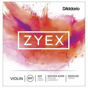 D'Addario Cordes pour violon D'Addario Zyex