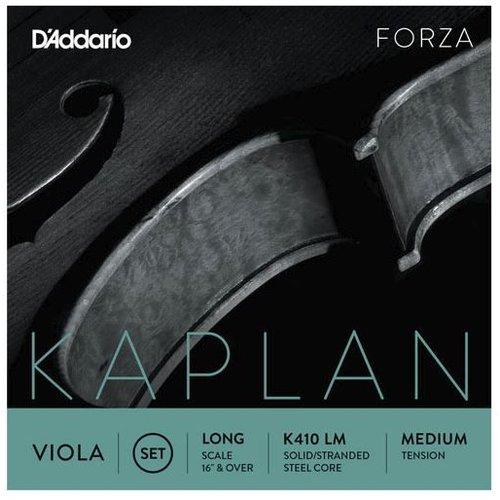 D'Addario Cordes pour alto D'Addario Kaplan Forza