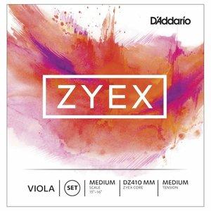 D'Addario Cordes pour alto D'Addario Zyex