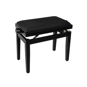 Piano bench with adjustable height