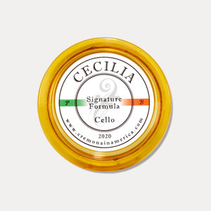 Andrea / Cecilia Colophane  Andrea / Cecilia Signature violoncelle mini