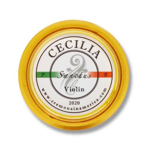 Andrea / Cecilia Colophane Andrea / Cecilia Sanctus violon