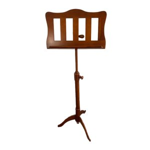4strings Music stand wood rustic open satinated