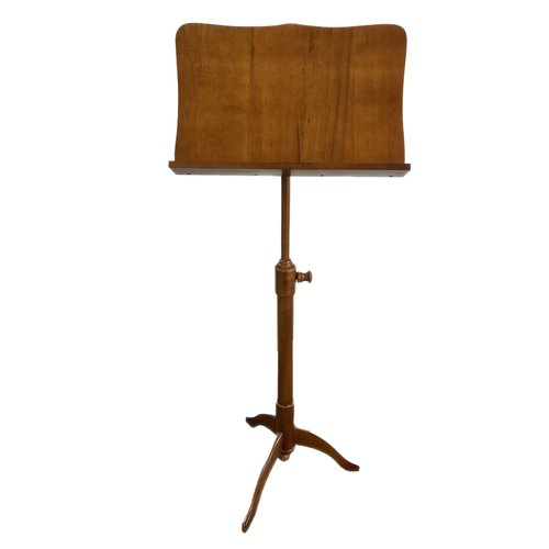 4strings Music stand wood rustic full satinated