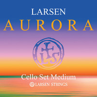 Cello strings Larsen Aurora