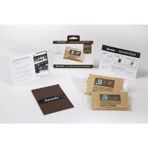 Boveda Boveda starter small kit humidity control 49% wood instruments