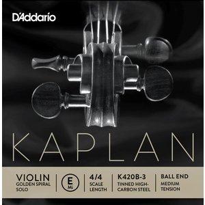 D'Addario Violin strings D'Addario Kaplan Golden Spiral Solo