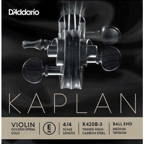 D'Addario Cordes pour violon D'Addario Kaplan Golden Spiral Solo