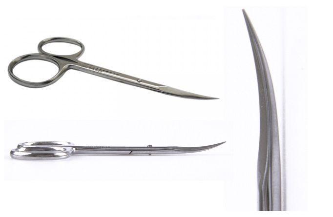 STALENA Ciseaux à peau fins, longs 21 mm (H-10)