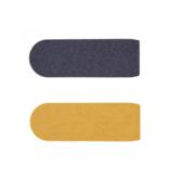 Surface râpe à pied, gros grains (VV-80) - 10 pièces