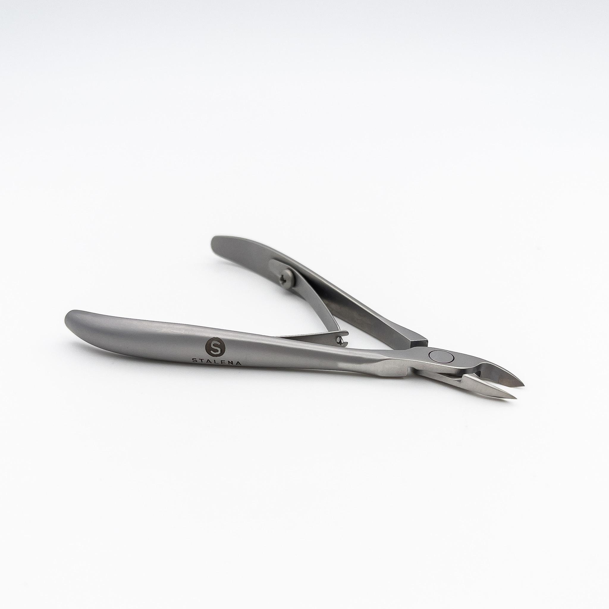 STALENA Pince à peau 3 mm - poignée courte KM-003 (N3-10-03)