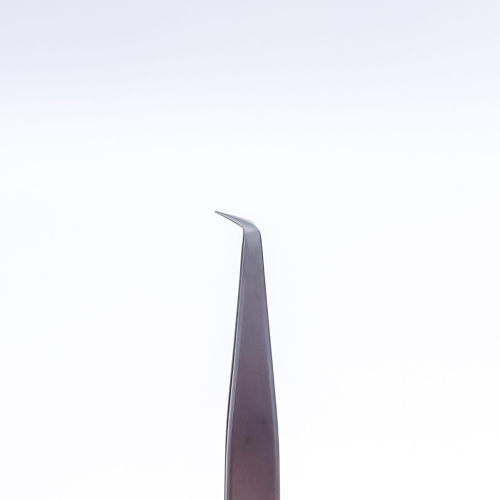 STALENA Pince à épiler large, courbée, bout pointue (P-11)
