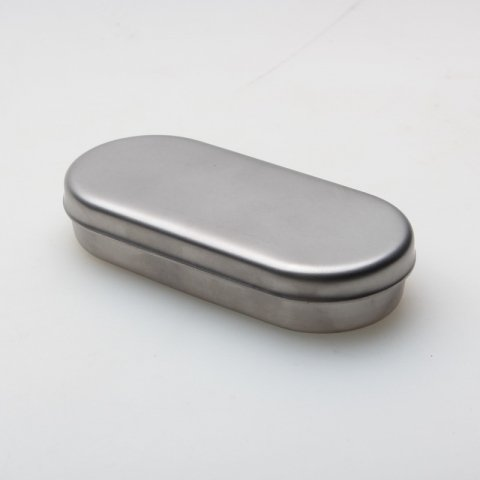 Boîte avec couvercle pour les fraises - Inox (ID)