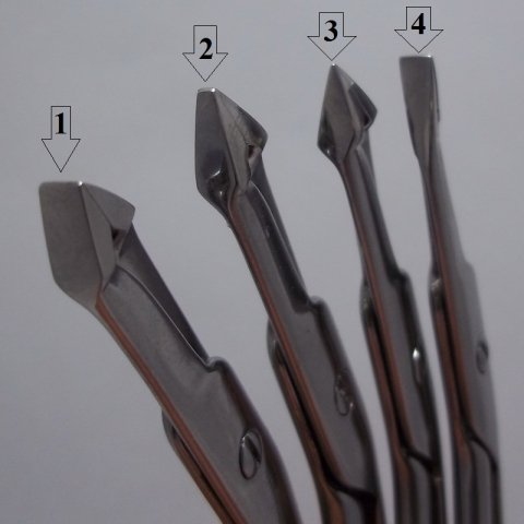 STALENA Ciseaux bout pince à épiler, longs (PH-04)