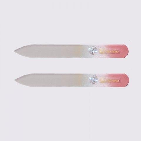 Glazen vijl medium groot en puntig 105 mm (F5-10-105)