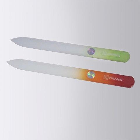 Glazen vijl, groot en puntig 135 mm (F5-10-135)