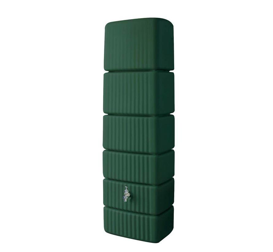 Garantia Slim wandtank 300 ltr groen