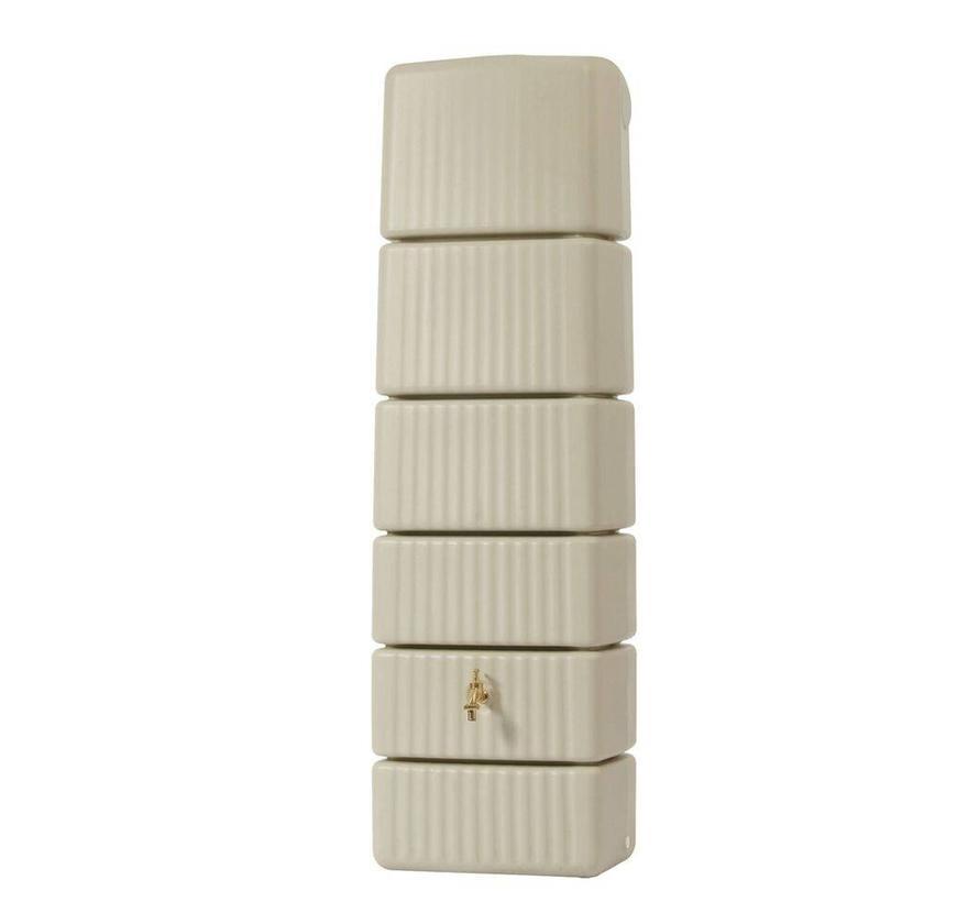 Garantia Slim wandtank 300 liter beige