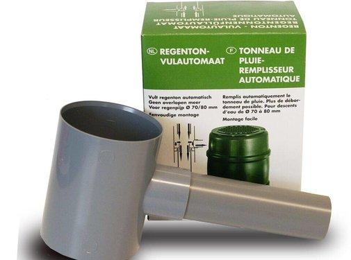 Regenton vulautomaat 70/80 mm