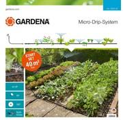 Gardena Micro Drip startset Bloembed