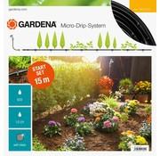 Gardena Micro Drip startset voor rijplanten en heggen - 15m