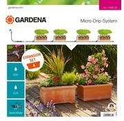 Gardena Micro Drip uitbreidingsset voor Bloembakken