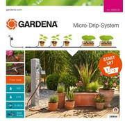 Gardena Micro Drip Startset voor Bloembakken (auto)