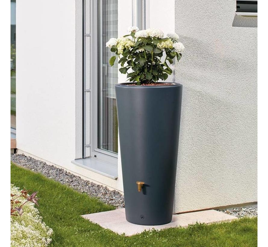 Garantia VASO 2-in-1 regenton en plantenbak 220 liter antraciet