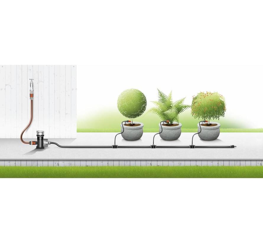 Gardena Micro Drip Startset voor Bloembakken