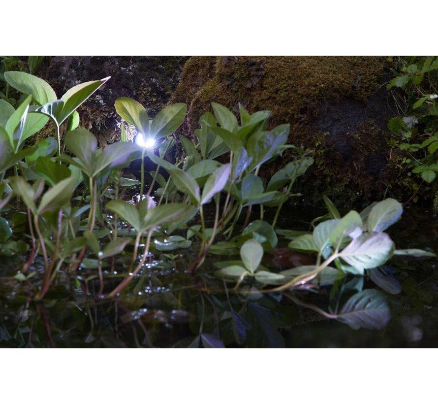 Smart Light spot 1W warm wit metaal