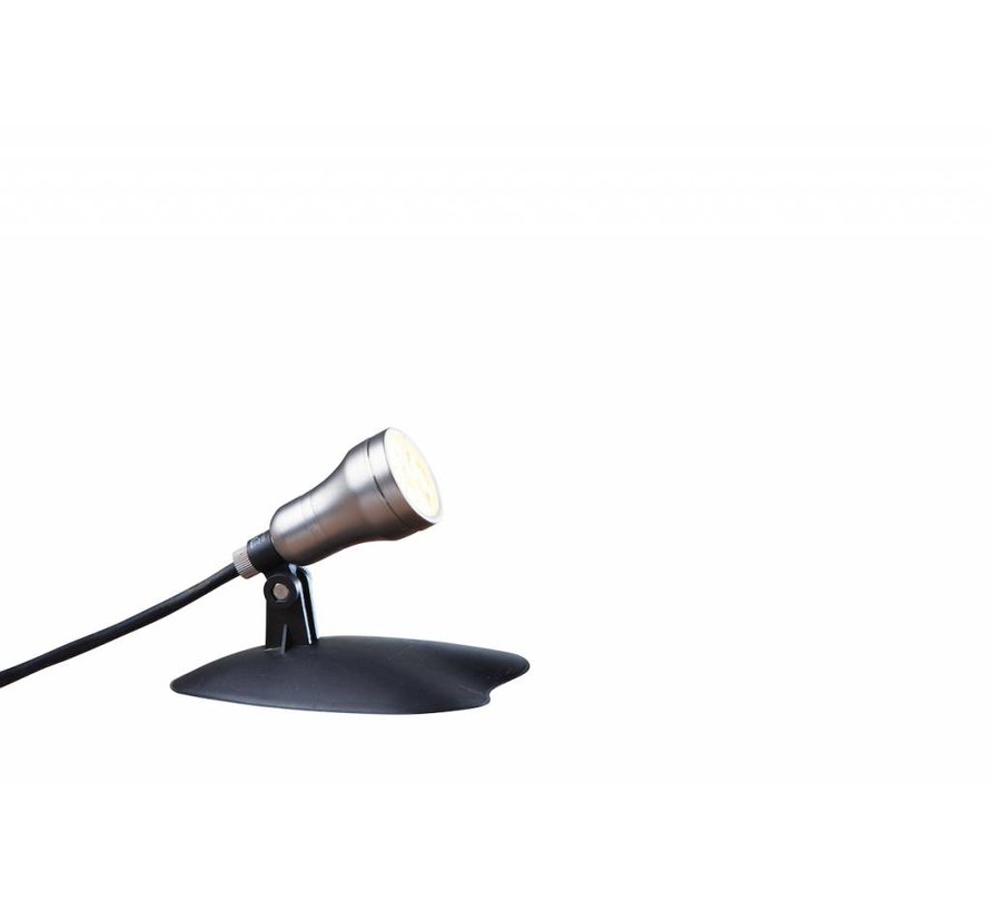 Smart Light spot 4W warm wit metaal