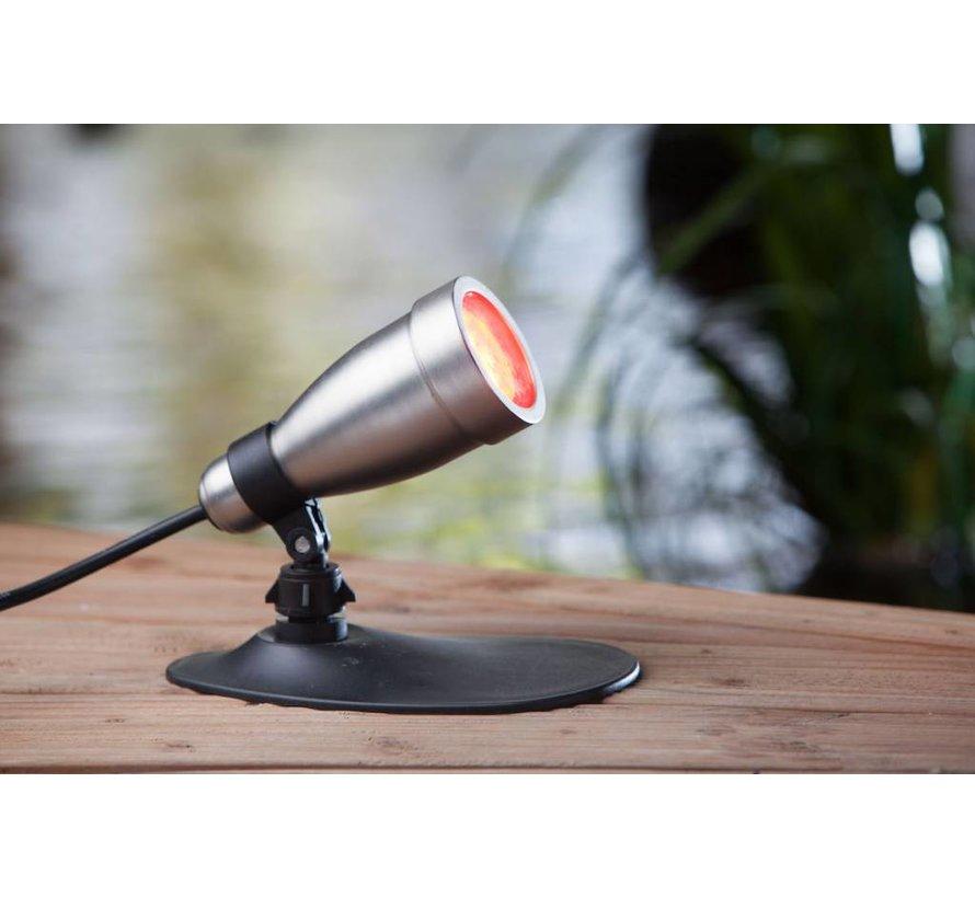 Heissner Smart Light spot 9W RGB metaal