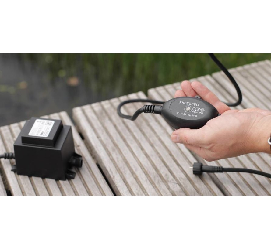 Heissner Smart Light sensor zonsopgang/ondergang 2 pin