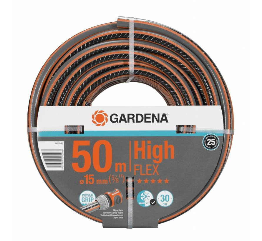Gardena Comfort HighFLEX slang 50m/15mm