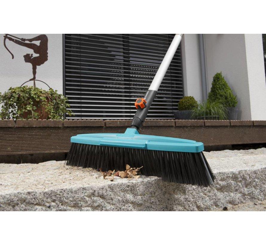 Gardena combisystem straatbezem met schraper