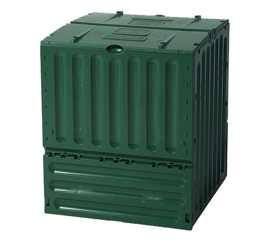 Compostvat Eco-king 400 ltr groen