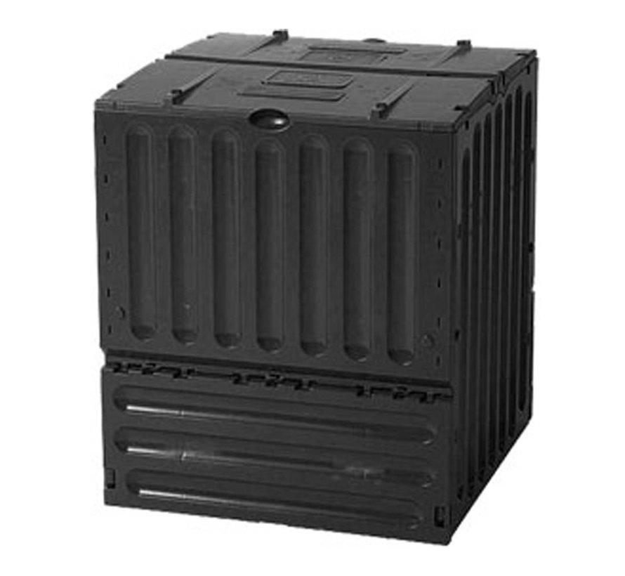 Compostvat Eco-king 400 ltr zwart