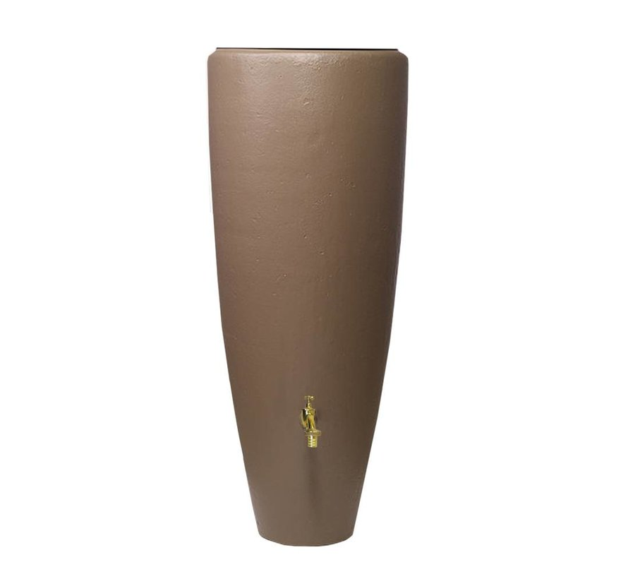 VASO 2-in-1 regenton en plantenbak 300 ltr taupe