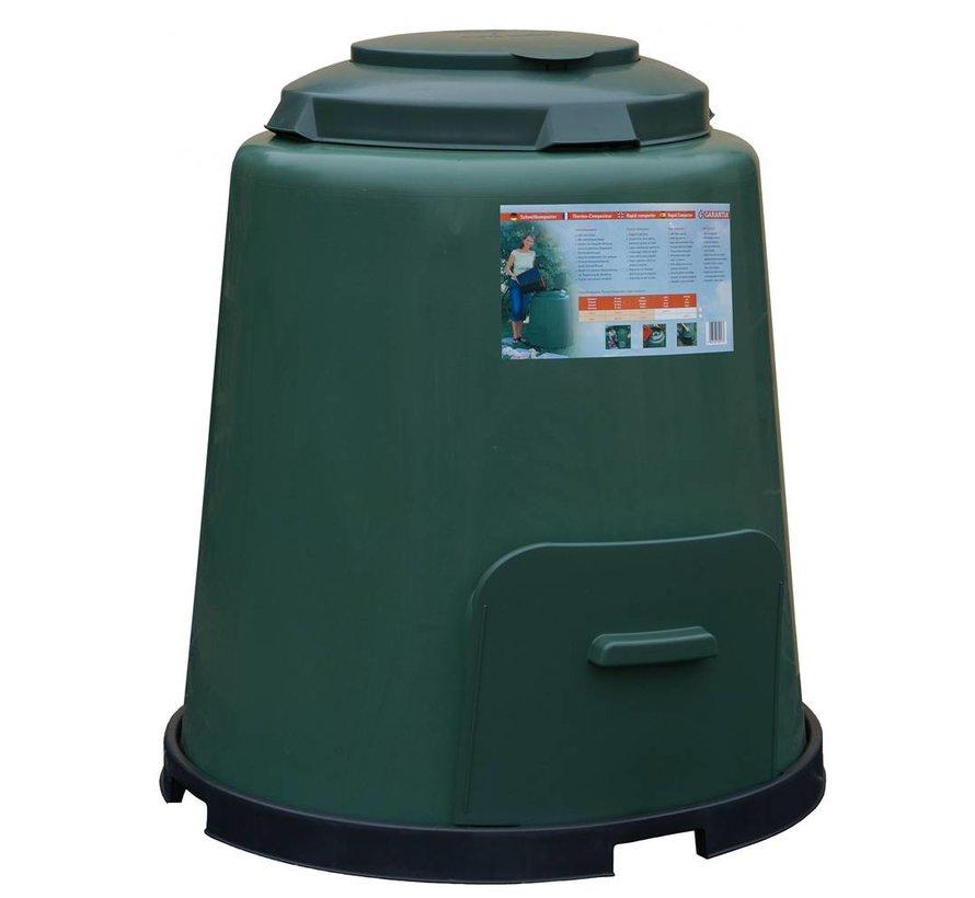 Compostvat 280 ltr gr/beluchting