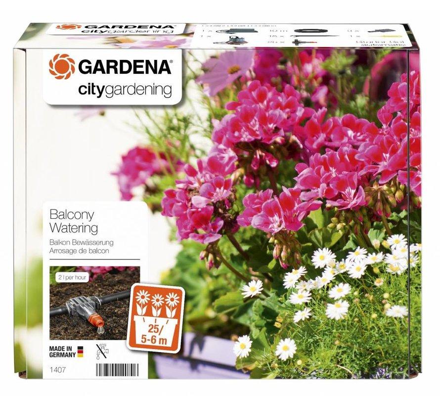 Gardena automatische Bloembakbesproeiingsset
