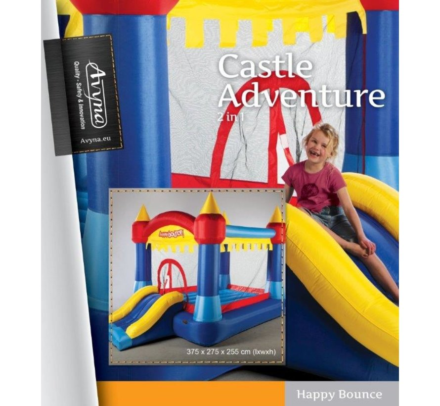 Klein springkussen Avyna Castle Adventure 2-1