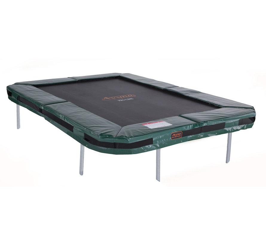 Rechthoekige trampoline ingraven? Kies voor de Pro-Line Inground 215x155 cm